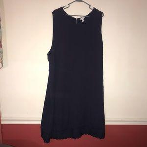 Ava and Viv Navy blue dress